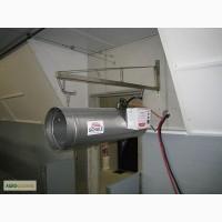 Система обогрева для свинарников, б/у система обогрева для свинокомплексов