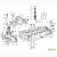 Головка блока цилиндров на Двигатель Д 3900к