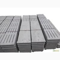 Плиты бетонные щелевые