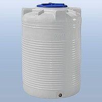 Бак, бочка для воды (ДТ) пластиковая вертикальная 500 л (до 20000 л.)