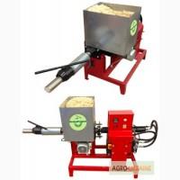 Брикетировочный автоматический мини-пресс для древесных опилок (брикетировщик, брикетёр)
