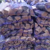 Дрова в сетках 15 дм, твердых пород для мангала