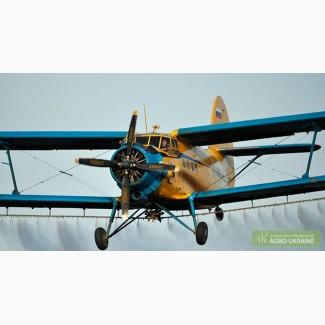Авиавнесение гербицидов самолетами Ан-2 - авиахимпрополка