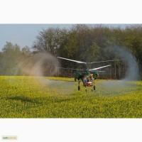Услуги по внесению инсектицида бискайя авиацией - вертолеты и самолеты