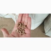 Пеллеты древесные диаметром 6 и 8 мм, пакеты по 15 кг, доставка по Украине