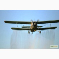 Десикация подсолнечника и других культур самолётами