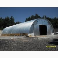Металлические склады, ангары, зернохранилища