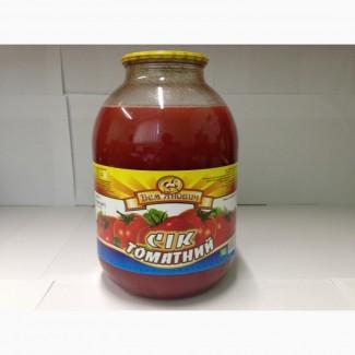 Сок томатный, с/б, 3л