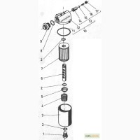 Гидравлический фильтр на погрузчики ДВ 1784, ДВ 1786, ДВ 1788, ДВ 1792