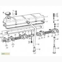 Крышка головки блока цилиндров на Двигатель Д 3900к