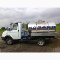 Продажа молоковоза ГАЗ и на шасси заказчика