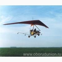 Авиахимическая обработка полей и защита посевов дельтапланами