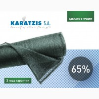 Сетка затеняющая Karatzis зеленая (2х50) 65%