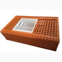 Клітка, ящики для перевозки курей, бройлерів, курчат, перепі