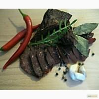 Вяленое мясо из оленя