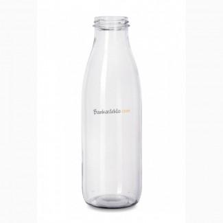 Бутылка стеклянная твист 750 мл ТО 48 Молоко
