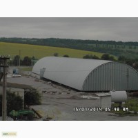 Производство, возведение и монтаж бескаркасных арочных ангаров, складов, хранилищ