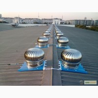 Вентиляция без электричества - турбодифлектор
