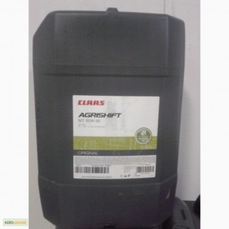 Масло трансмісійне claas agrishift mt 80w90 (20l)