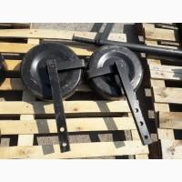 Левое колесо в сборе с стойкой однорядной картофелекопалки