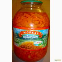 Морковь Лиман гарнирная 3л
