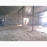 Аграрний сектор - склади, зерносховища, корівники, свинарники - комплектування та монтаж