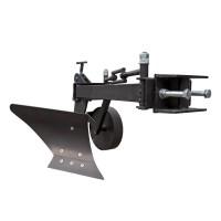Плуг для мотоблока Zirka-61 (опорне колесо, довга рама), ПЛ8
