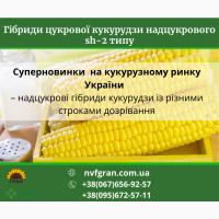 Продам! Надцукрові гібриди кукурудзи із різними сроками дозрівання