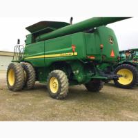 Уборка урожая John Deere-9770 STS