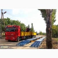 Весы автомобильные электронные бесфундаментные 18 метров 60 или 80 тонн