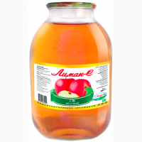 Сок яблочный осветленный ТМ Лиман-С СКО 3, 0/4
