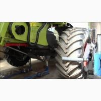 Монтаж и демонтаж крупногабаритных шин
