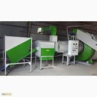 Линия сушения и дробления опилок и щепы АВМ 0-65 до 1000 кг/ч