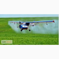 Авиа обработка полей гербицидами, недорого