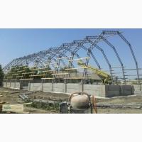 Будівництво Зерносховища, овочесховища, металеві конструкції