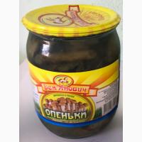 Грибы опята консервированные ТМ Демьянович СКО 0, 5л