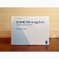 Зомета (Zometa) 5мл(4мг) фл. 1, Novartis, (Швейцария)