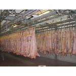 Оборудование цехов убоя и обвалки свиней птицы крс