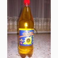 Целебное подсолнечное масло первого холодного отжима