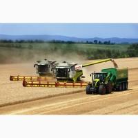 Сбор зерновых, подсолнечника, кукурузы импортными комбайнами