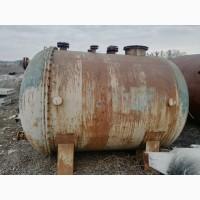 Емкость металлическая 5м3, бак для воды, резервуар ргс для гсм
