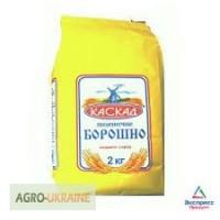 Мука пшеничная высший сорт фасованная по 2 кг и 5 кг
