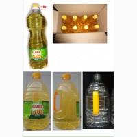 Подсолнечное масло рафинированое наливное и фасованое от производителя
