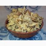 Лисички сушеные - грибы - Карпаты