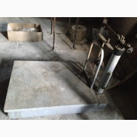 Платформенные механические весы 1 тонна