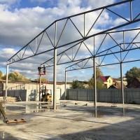 Строительство и реконструкция ангаров, зернохранилища