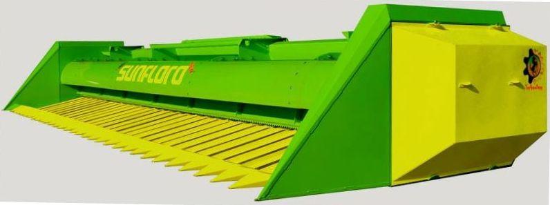 Жатка для подсолнечника ЖСН, жатка для уборки подсолнуха SunFloro New, JOHN GREAVES 2019г