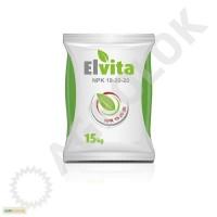 Добрива комплексні Elvita NPK 19-20-20 + mikro-ел. Мішки по 15 кг