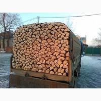 Дрова плотно уложены с доставкой Бровары Киеву и Киевской области