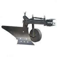 Плуг для мотоблока Zirka-61 (опорне колесо, коротка рама), ПЛ9
